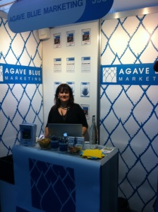 barbara-hollyhead-agave-blue-marketing-stand-at-Imbibe-2013