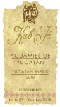 Kab Ja Aguamiel de Yucatan Mexico etiqueta agave blue marketing