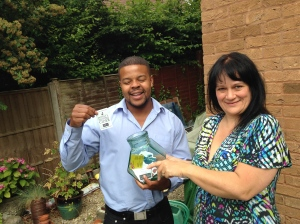 agave-blue-marketing-picking-the-winner-of-our-prize-draw-at-bath-business-expo-2014-part-three