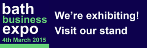 Bath Business Expo 2015 we-are-exhibiting-agave-blue-marketing